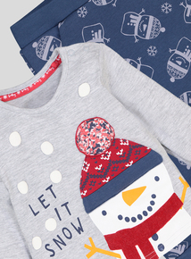Christmas Multicoloured 2 Piece Set (0-24 months)