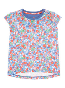 Multicoloured Floral Tee (0-24 months)