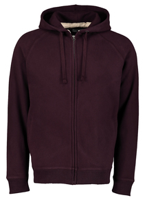 Purple Zip-Through Hoodie