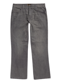 Grey Wash Bootcut Denim Jeans