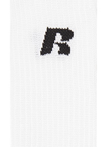 Russell Athletic White Sports Socks 3 Pack