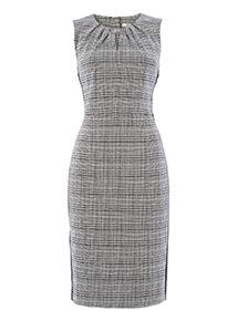 Check Illusion Dress