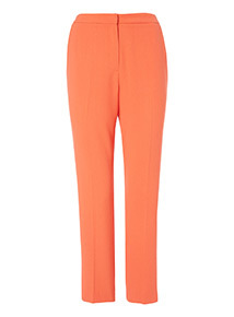 Orange Frill Trim Pocket Trousers