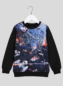 Star Wars Multicoloured Long-Sleeved Sweatshirt (3 - 14 years)