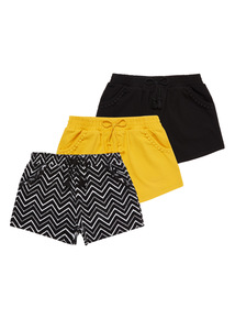 Patterned Shorts 3 Pack (3 - 12 years)