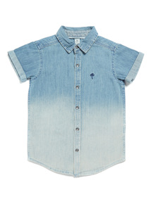Denim Ombre Shirt (3-14 years)