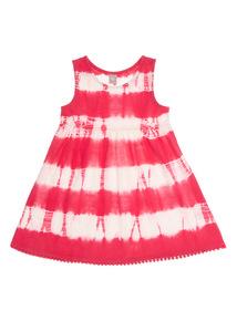 Pink Tie Dye Dress (9 months - 6 years)