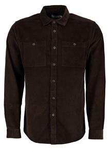 Brown Corduroy Overshirt
