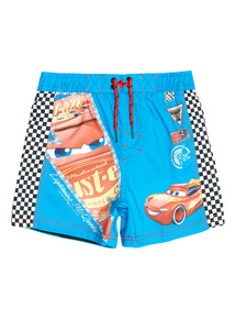 Multicoloured Disney Cars Swim Shorts (1 - 8 years)