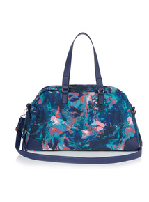 Multicoloured Active Printed Bag