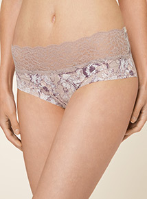 3 Pack No VPL Lace Top Short