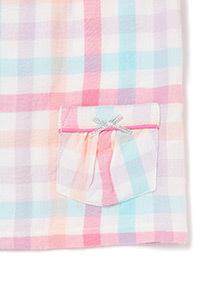 Pink Checked Pyjama Set (1-12 years)
