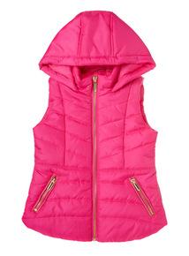 Pink Puffa Gilet (3-12 years)