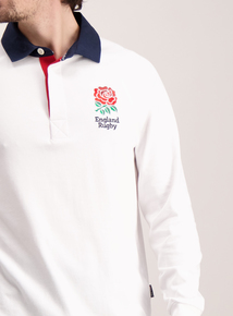 England White Rugby Shirt