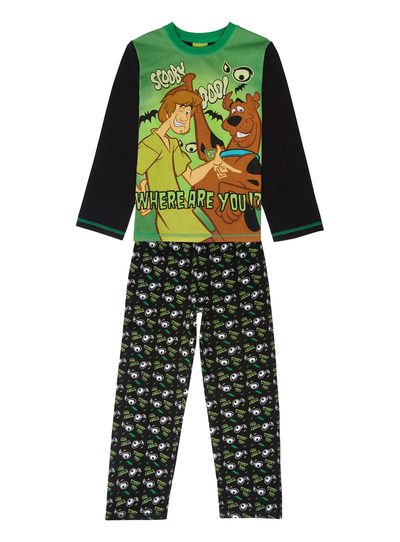 2396c11642 Kids Boys Green Scooby Doo Pyjamas (3-12 years)