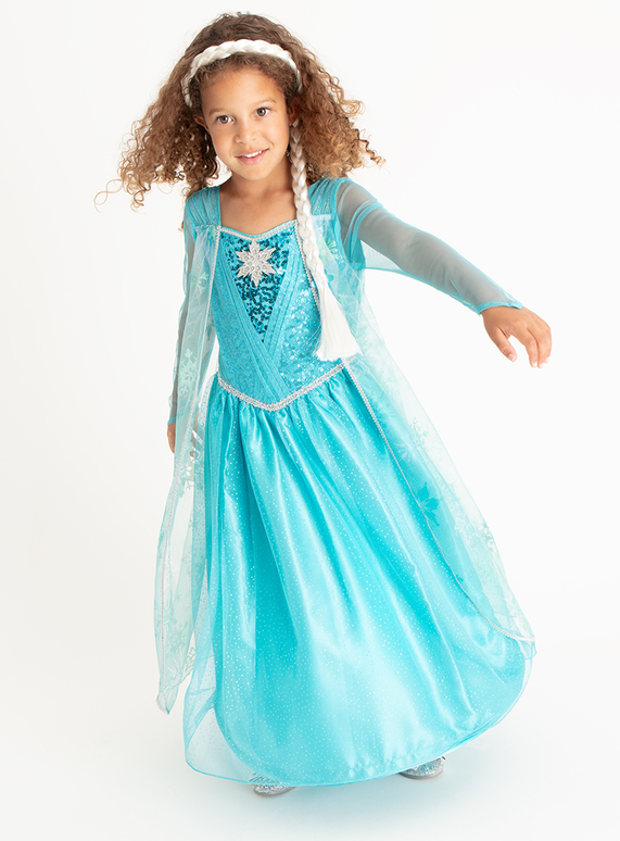 10 Disney Costume1 Fancy Elsa Frozen YearsTu Dress Clothing XuZiTwOPkl