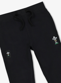 Online Exclusive Black Wales Joggers (1-14 years)