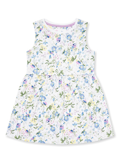 Multicoloured Floral Printed Dress (9 months-6 years)