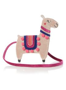 Multicoloured Llama Bag