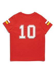 Red Spain Football T-shirt (3-14 years)