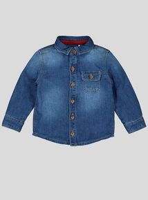 Blue Denim Shirt (0-24 months)