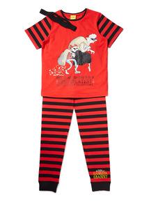 Red Gangsta Granny Pyjama Set (3-12 years)