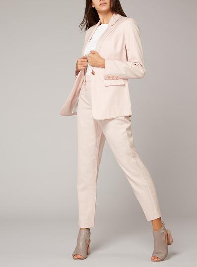 Premium Linen Tailored Jacket