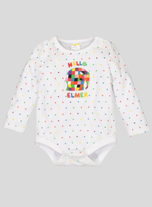 Hello Elmer Body Suit (Newborn- 18 months)