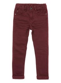 Dark Red Skinny Jeans (3-14 years)