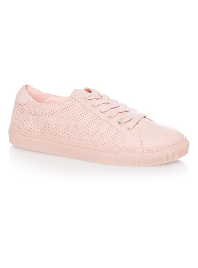 Pink Chunky Cupsole Shoes
