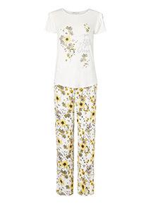 Floral Shoreline Pyjama Set