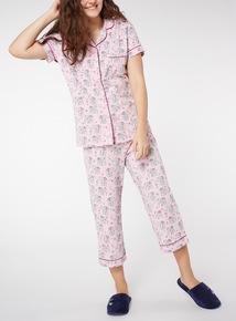 Elephant Print Traditional Pyjama Set