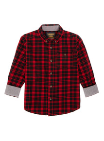 Boys Multicoloured Checked Shirt (3-12 years)