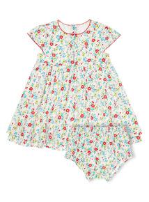 Girls Multicoloured Floral Dress (0-24 months)