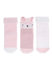 Bunny Socks 3 Pack