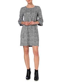 Checked Mini Dress
