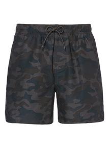 Khaki Camo Pattern Shortie