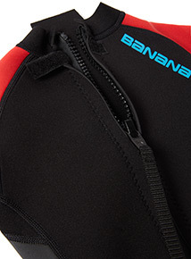 Unisex Red and Turquoise Wetsuit (3-13 years)