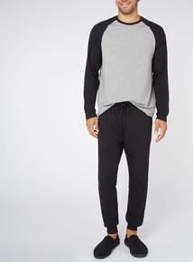 Black and Grey Pyjamas