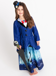 Disney Mary Poppins Blue Costume 3 Part Set (3-10 years)