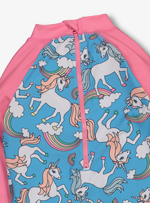 Rainbow Unicorn Sunsafe All In One (9 months -5 Years)