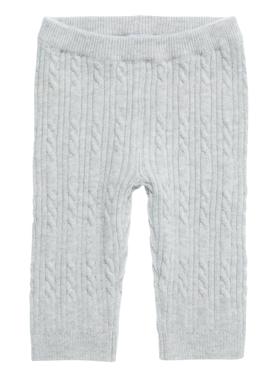 8320acf7a86cf Baby Girls Grey Cable Knit Leggings (0-24 months) | Tu clothing