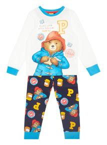 Multicoloured Paddington Bear Pyjama Set