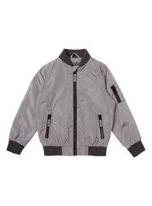 Grey Bomber Jacket (3 - 14 years)
