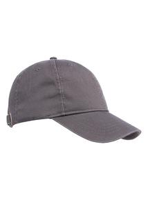 Grey Washed Baseball Cap
