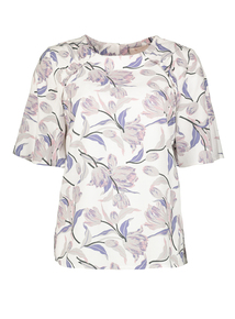 Premium Multicoloured Floral Printed Blouse