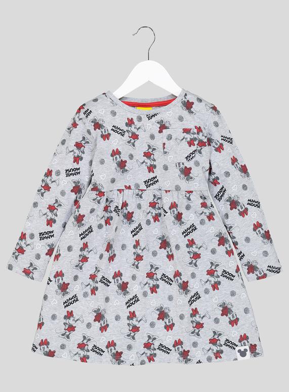 62f94c4c118b Kids Disney Minnie Mouse Grey Jersey Dress (1 - 7 Years) | Tu clothing