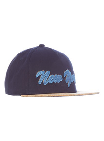 Blue New York Cork Peak Hat (3 - 12 years)