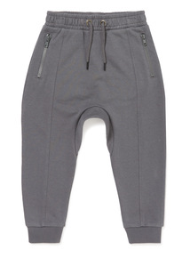 Grey Dropped Crotch Joggers (3-14 years)