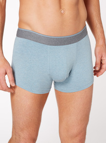 3 Pack Multicoloured Pastel Marl Hipster Briefs